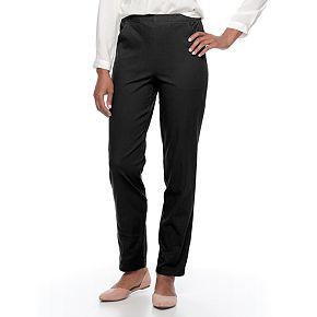 Women's Croft & Barrow® Classic Pull-On Tapered-Leg Pants