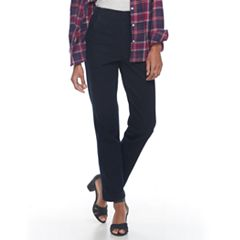 Women's Croft & Barrow® Pull-On Tapered-Leg Jeans