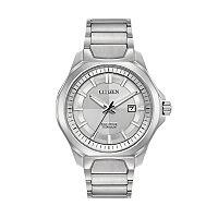 Citizen Eco-Drive Men's TI + IP Super Titanium Watch - AW1540-88A