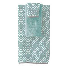 Pacific Coast Textiles Oxford 6-piece Yarn Dyed Bath Towel Set