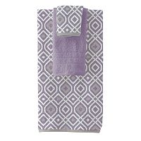 Pacific Coast Textiles Oxford 6 pc Yarn Dyed Bath Towel Set