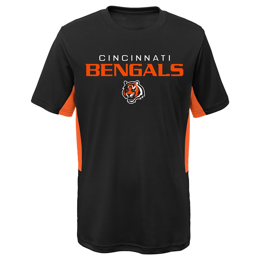Boys 4-7 Cincinnati Bengals Mainframe Performance Tee