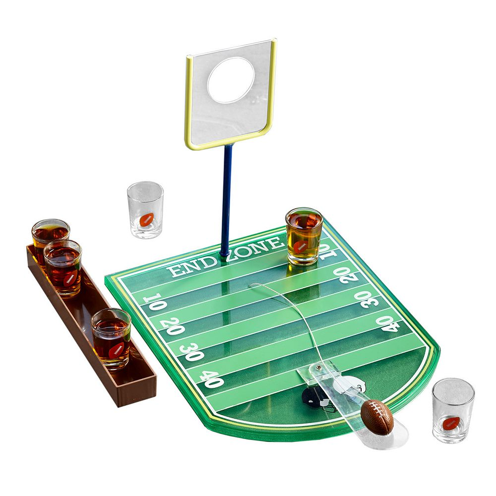 Game Night Football Game Shot Glass Set