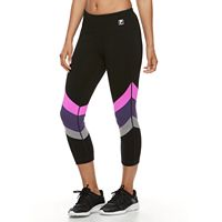 Women's FILA SPORT® Tri-Color Capri Leggings