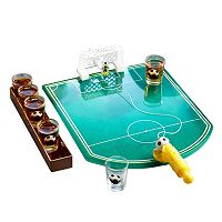 Game Night Soccer Game Shot Glass Set