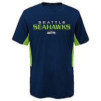 Boys 4-7 Seattle Seahawks Mainframe Performance Tee