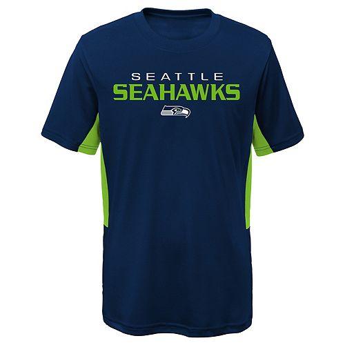 Boys 4-7 Seattle Seahawks Mainframe Performance Tee
