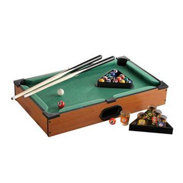Game Night Pool Table Shot Glass Set