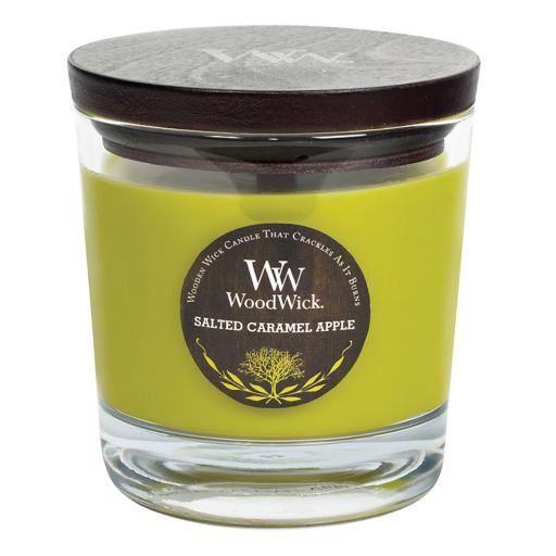 WoodWick Salted Caramel Apple 10.5-oz. Candle Jar