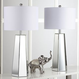 Safavieh Janice Mirrored Table Lamp 2-piece Set