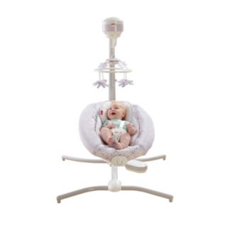 Fisher-Price Deluxe Fairytale Cradle 'n Swing
