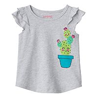 Baby Girl Jumping Beans® Cactus Graphic Tee