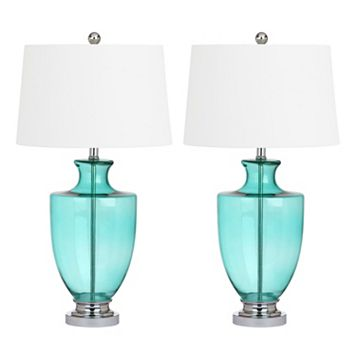 Safavieh Desiree Glass Table Lamp 2-piece Set