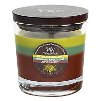 WoodWick Tri-Pour Salted Caramel Apple 17.2-oz. Candle Jar