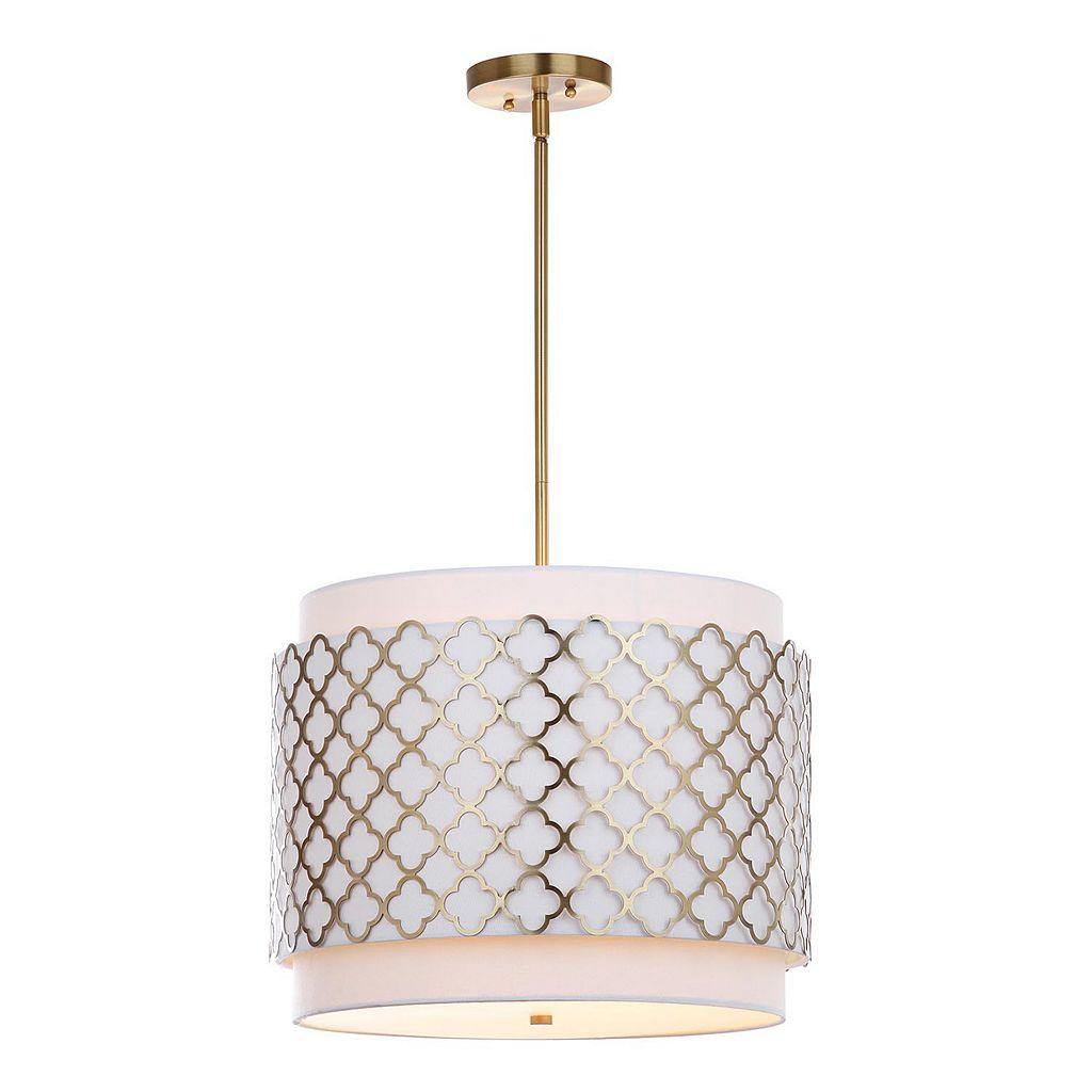 Safavieh Priscilla Quatrefoil Pendant Lamp