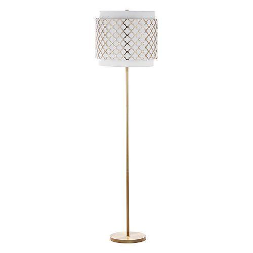 Safavieh Priscilla Quatrefoil Floor Lamp