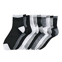 Women's Tek Gear® 10-pk. Half-Cushioned Quarter Socks