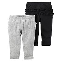 Baby Girl Carter's 2 pkRuffle Pants
