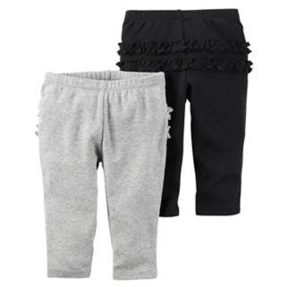 Baby Girl Carter's 2-pk. Ruffle Pants