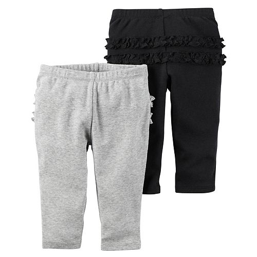 Baby Girl Carter's 2-pk. Ruffle Pants