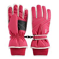 Women's Igloos Waterproof Taslon Ski Gloves