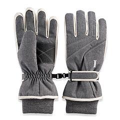 Women s Igloos Waterproof Taslon Ski Gloves 63915b29d38