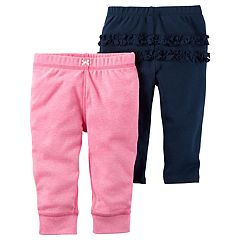 Baby Girl Carter's 2 pkSolid Ruffle Pants