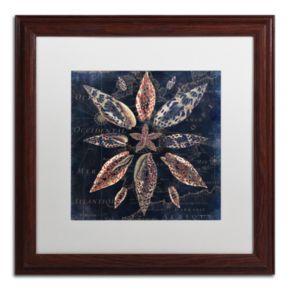 Trademark Fine Art Maritime Blues VII Framed Wall Art