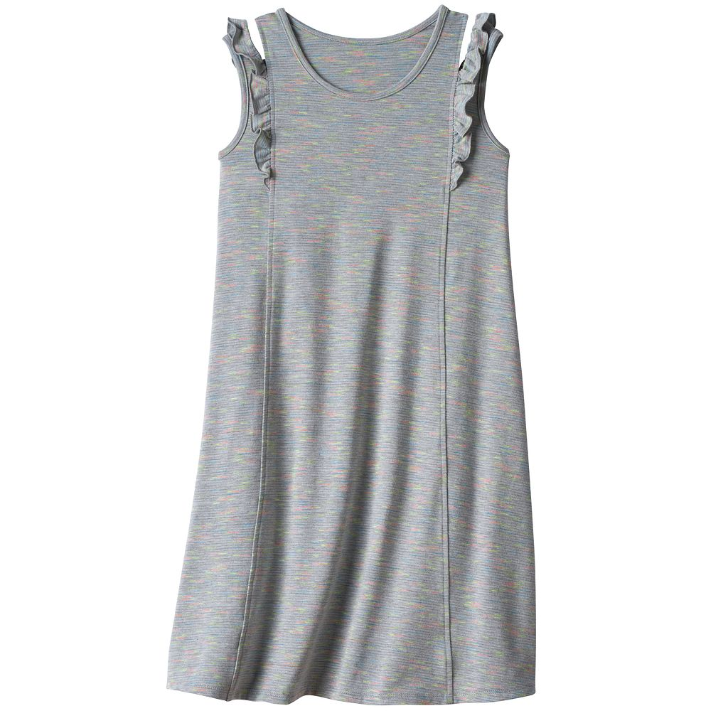 Girls 7-16 & Plus Size SO® Ruffle Shoulder Knit Dress
