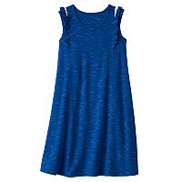 Girls 7-16 & Plus Size SO® Ruffle Shoulder Knit Dress