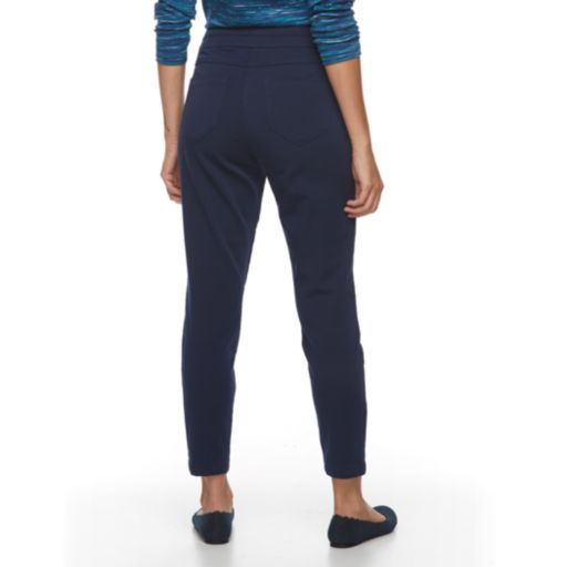Petite Kate and Sam Super Stretch Pull-On Pants