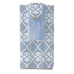Pacific Coast Textiles Lattice 6-piece Yarn Dyed Bath Towel Set