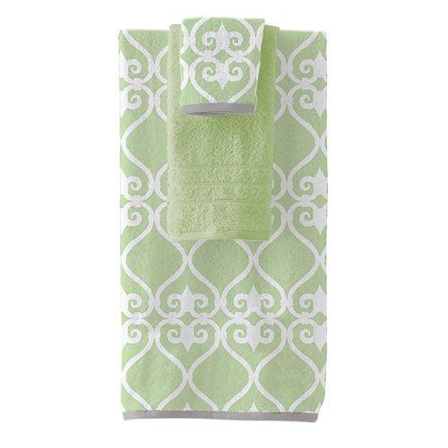 Pacific Coast Textiles Lattice 6-piece Yarn Dyed Bath Towel Set