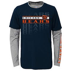 Boys 4-7 Chicago Bears Interface Dri-Tek Tee Set