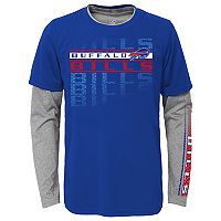 Boys 4-7 Buffalo Bills Interface Dri-Tek Tee Set