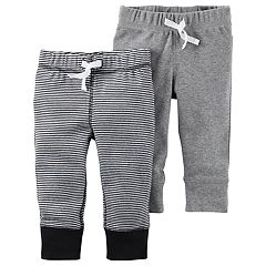 Baby Boy Carter's 2 pkStriped & Solid Pants