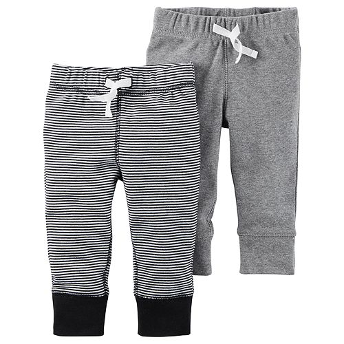 Baby Boy Carter's 2-pk. Striped & Solid Pants