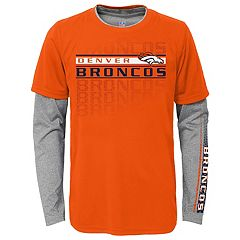 Boys 4-7 Denver Broncos Interface Dri-Tek Tee Set