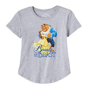 Disney's Beauty & The Beast Girls 7-16 Belle & Beast Graphic Tee