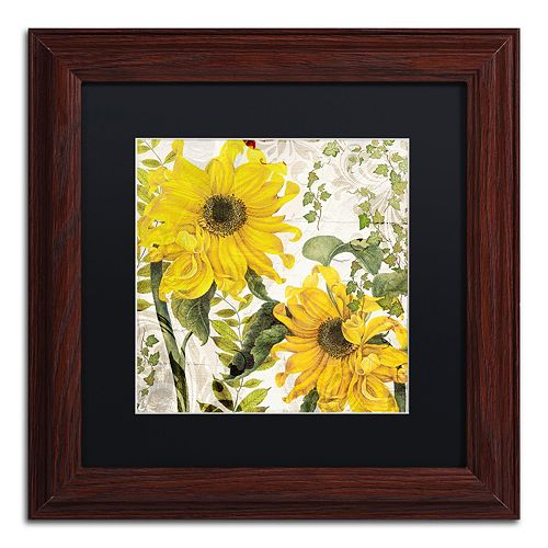 Trademark Fine Art Carina I Framed Wall Art
