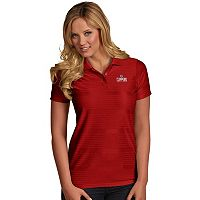 Women's Antigua Los Angeles Clippers Illusion Polo