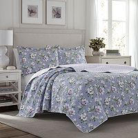 Laura Ashley Lifestyles Carlisle Quilt Set