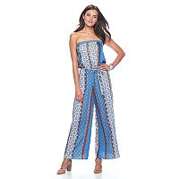 Women's MSK Mosaic Wide-Leg Jumpsuit