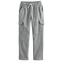 Boys 4-10 Jumping Beans® Slim Leg Fleece Cargo Pants