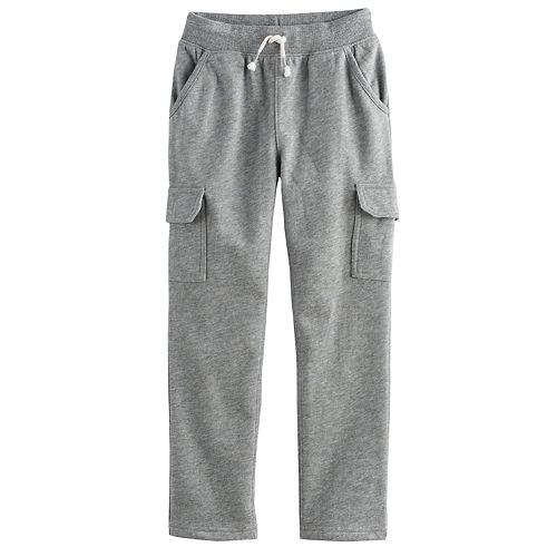 Boys 4-10 Jumping Beans® Slim Leg Fleece Cargo Pants