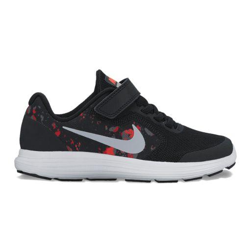 Nike Revolution 3 Preschool Boys' Print Sneakers