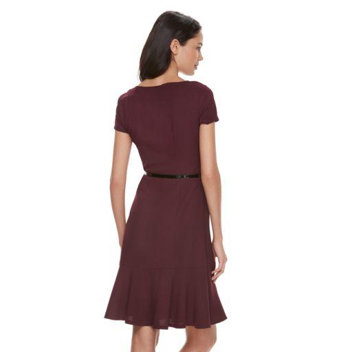 Women's ELLE™ Solid Drop-Waist Dress