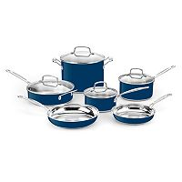 Cuisinart Chef's Classic Color Series 10-pc. Stainless Steel Cookware Set