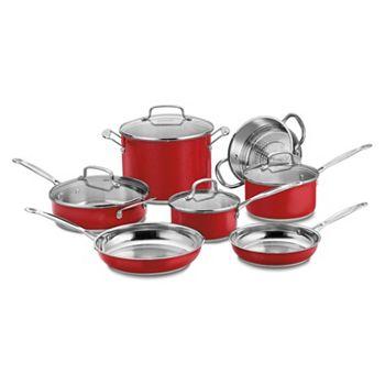 Cuisinart Chef's 11-pc. Cookware Set + $30 Kohls Cash
