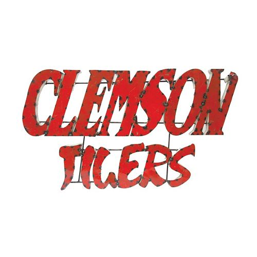 Clemson Tigers Metal Wall Décor